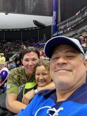 Stro attended Jacksonville Icemen vs. Brampton Beast - ECHL on Jan 11th 2020 via VetTix