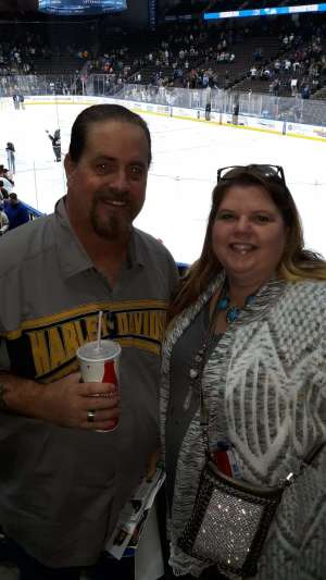 John attended Jacksonville Icemen vs. Brampton Beast - ECHL on Jan 11th 2020 via VetTix