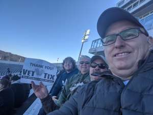 Harry attended 2019 Auto Zone Liberty Bowl - Navy Midshipmen vs. Kansas State Wildcats - NCAA Football on Dec 31st 2019 via VetTix