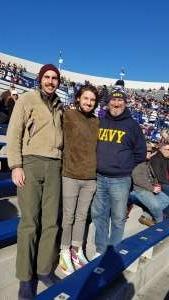 Greg attended 2019 Auto Zone Liberty Bowl - Navy Midshipmen vs. Kansas State Wildcats - NCAA Football on Dec 31st 2019 via VetTix