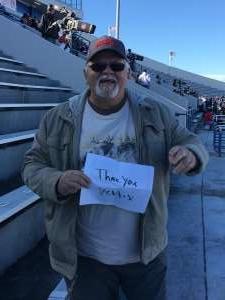 Leonard attended 2019 Auto Zone Liberty Bowl - Navy Midshipmen vs. Kansas State Wildcats - NCAA Football on Dec 31st 2019 via VetTix