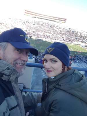 Daniel attended 2019 Auto Zone Liberty Bowl - Navy Midshipmen vs. Kansas State Wildcats - NCAA Football on Dec 31st 2019 via VetTix