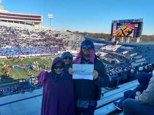 Darran attended 2019 Auto Zone Liberty Bowl - Navy Midshipmen vs. Kansas State Wildcats - NCAA Football on Dec 31st 2019 via VetTix