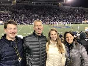 Bethany attended 2019 Auto Zone Liberty Bowl - Navy Midshipmen vs. Kansas State Wildcats - NCAA Football on Dec 31st 2019 via VetTix