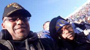 Cleroy attended 2019 Auto Zone Liberty Bowl - Navy Midshipmen vs. Kansas State Wildcats - NCAA Football on Dec 31st 2019 via VetTix
