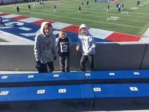 Matthew attended 2019 Auto Zone Liberty Bowl - Navy Midshipmen vs. Kansas State Wildcats - NCAA Football on Dec 31st 2019 via VetTix