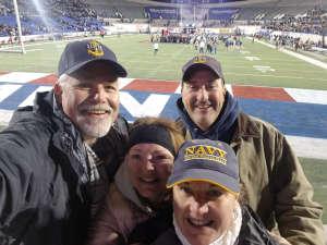 Deanna attended 2019 Auto Zone Liberty Bowl - Navy Midshipmen vs. Kansas State Wildcats - NCAA Football on Dec 31st 2019 via VetTix