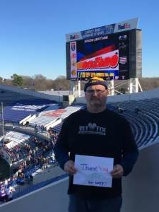robert attended 2019 Auto Zone Liberty Bowl - Navy Midshipmen vs. Kansas State Wildcats - NCAA Football on Dec 31st 2019 via VetTix