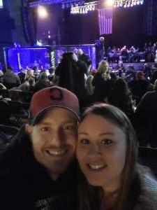 Aaron attended Ohio Combat League 5 - Mixed Martial Arts on Jan 4th 2020 via VetTix