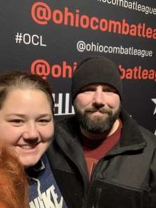 Cailee attended Ohio Combat League 5 - Mixed Martial Arts on Jan 4th 2020 via VetTix
