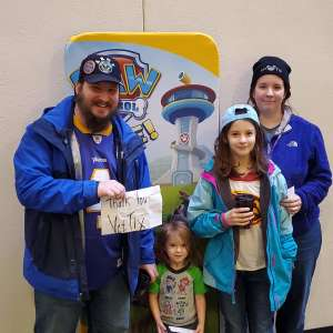 Jacob attended Paw Patrol Live - Race to the Rescue on Jan 4th 2020 via VetTix