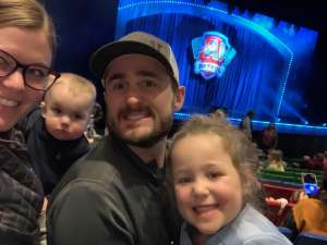 Green Family attended Paw Patrol Live - Race to the Rescue on Jan 4th 2020 via VetTix
