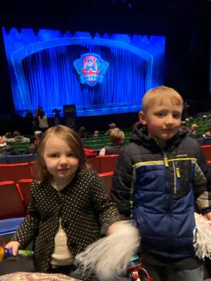 Gary attended Paw Patrol Live - Race to the Rescue on Jan 4th 2020 via VetTix