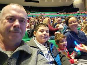 Vincent attended Paw Patrol Live - Race to the Rescue on Jan 4th 2020 via VetTix