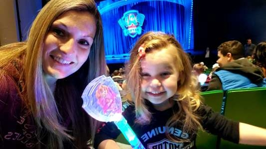 Terran attended Paw Patrol Live - Race to the Rescue on Jan 4th 2020 via VetTix