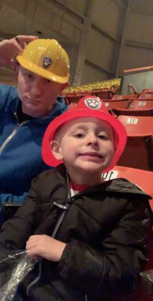 Megan attended Paw Patrol Live - Race to the Rescue on Jan 15th 2020 via VetTix