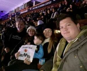 christopher attended Disney on Ice Presents Mickey's Search Party on Dec 19th 2019 via VetTix