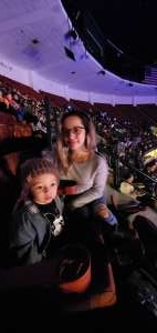 Randy & Maricruz  attended Disney on Ice Presents Mickey's Search Party on Dec 19th 2019 via VetTix