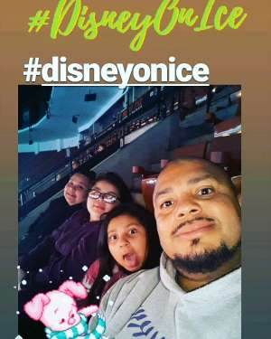 JOHN attended Disney on Ice Presents Mickey's Search Party on Dec 19th 2019 via VetTix