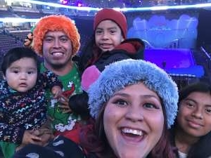 Blanca attended Disney on Ice Presents Mickey's Search Party on Dec 19th 2019 via VetTix