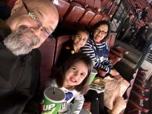 Ruben attended Disney on Ice Presents Mickey's Search Party on Dec 19th 2019 via VetTix