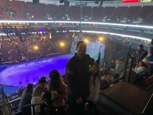 Matthew attended Disney on Ice Presents Mickey's Search Party on Dec 19th 2019 via VetTix