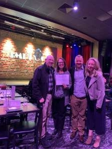 James attended Jamie Kennedy at Raleigh Improv on Dec 27th 2019 via VetTix