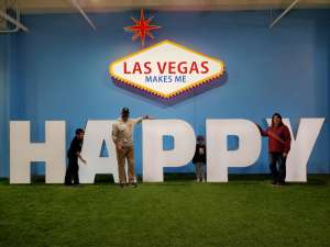 Jacob attended Happy Place - Las Vegas on Jan 16th 2020 via VetTix
