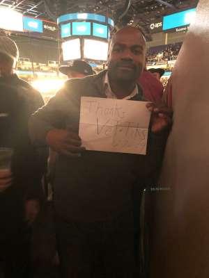 Michael attended Matchroom Boxing USA Jacobs vs. Chavez Jr on Dec 20th 2019 via VetTix