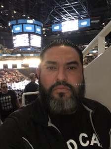 Adalberto attended Matchroom Boxing USA Jacobs vs. Chavez Jr on Dec 20th 2019 via VetTix