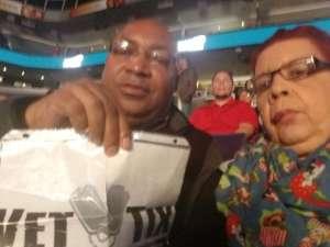 James attended Matchroom Boxing USA Jacobs vs. Chavez Jr on Dec 20th 2019 via VetTix