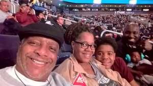 Tony attended Matchroom Boxing USA Jacobs vs. Chavez Jr on Dec 20th 2019 via VetTix