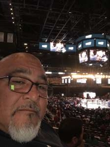 Ray attended Matchroom Boxing USA Jacobs vs. Chavez Jr on Dec 20th 2019 via VetTix