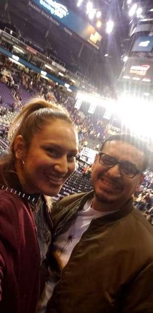 Eustacio attended Matchroom Boxing USA Jacobs vs. Chavez Jr on Dec 20th 2019 via VetTix