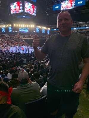 Rene attended Matchroom Boxing USA Jacobs vs. Chavez Jr on Dec 20th 2019 via VetTix
