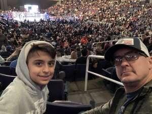 STEVEN attended Matchroom Boxing USA Jacobs vs. Chavez Jr on Dec 20th 2019 via VetTix