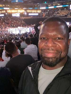 Antonio attended Matchroom Boxing USA Jacobs vs. Chavez Jr on Dec 20th 2019 via VetTix