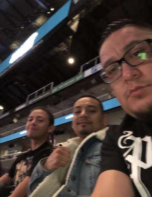 Gabriel attended Matchroom Boxing USA Jacobs vs. Chavez Jr on Dec 20th 2019 via VetTix