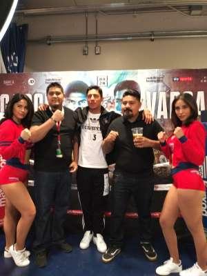 Javier attended Matchroom Boxing USA Jacobs vs. Chavez Jr on Dec 20th 2019 via VetTix