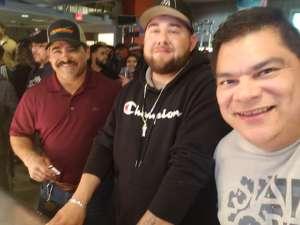 Pedro attended Matchroom Boxing USA Jacobs vs. Chavez Jr on Dec 20th 2019 via VetTix