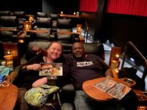 Dwight attended RoadHouse Cinemas Thursday for Vets on Jan 16th 2020 via VetTix