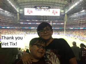 Bryan attended 2019 Texas Bowl: Oklahoma State Cowboys vs. Texas A&M Aggies on Dec 27th 2019 via VetTix