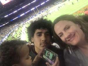 Jennifer attended 2019 Texas Bowl: Oklahoma State Cowboys vs. Texas A&M Aggies on Dec 27th 2019 via VetTix
