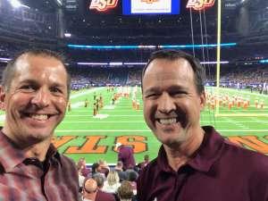 Joe attended 2019 Texas Bowl: Oklahoma State Cowboys vs. Texas A&M Aggies on Dec 27th 2019 via VetTix