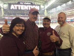 Larry attended 2019 Texas Bowl: Oklahoma State Cowboys vs. Texas A&M Aggies on Dec 27th 2019 via VetTix