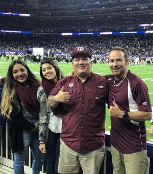 Adam attended 2019 Texas Bowl: Oklahoma State Cowboys vs. Texas A&M Aggies on Dec 27th 2019 via VetTix