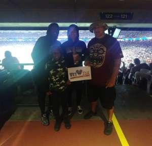 Joshua attended 2019 Texas Bowl: Oklahoma State Cowboys vs. Texas A&M Aggies on Dec 27th 2019 via VetTix