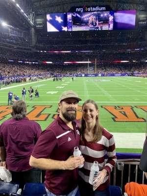 J Lee attended 2019 Texas Bowl: Oklahoma State Cowboys vs. Texas A&M Aggies on Dec 27th 2019 via VetTix
