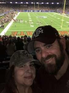 Garrett attended 2019 Texas Bowl: Oklahoma State Cowboys vs. Texas A&M Aggies on Dec 27th 2019 via VetTix