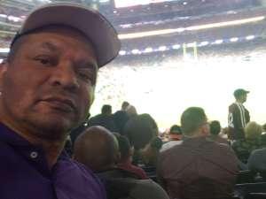 Anthony attended 2019 Texas Bowl: Oklahoma State Cowboys vs. Texas A&M Aggies on Dec 27th 2019 via VetTix